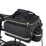 Fahrradtasche, 20-35 Liter für Gepäck, Satteltasche, Multifunktionstasche, Handtasche,...