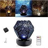 Nova Stars Original Home Planetarium Sternenhimmel Projektionslampe mit Bluetooth  ...