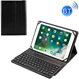NMD&LYQ Tablet hülle TY-1031 Universal-Bluetooth 3.0 ABS Brushed Texture Keyboard + Ledertasche for iOS, Windows Android Tablet PC zwischen 9-10,5 Zoll