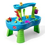Step2 Rain Shower Wasserspieltisch   Großer Wassertisch mit 13-teiligem Zubehörset  ...