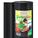 GardenGloss® 50m² Premium Unkrautvlies 150g/m² Extra Stark – Hohe UV-Stabilisierung...