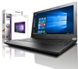 Lenovo (15,6 Zoll HD) Notebook (AMD A4-9125 2x2.6 GHz, 8GB DDR4 RAM, 1000GB HDD, Radeon R3, HDMI, Webcam, Bluetooth, USB 3.0, WLAN, Windows 10 Prof. 64 Bit, MS Office 2010 Starter) #6146