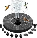 BAONUOR Solar Springbrunnen 2021 Upgrade, Solar Teichpumpe mit 11 Effekte Solar...