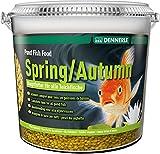 Dennerle Pond Fish Food Autumn, 10 Liter - Fischfutter Sticks für Teichfische Herbst -...