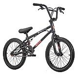 KHE BMX Fahrrad Blaze 18 Zoll patentierter Affix 360° Rotor schwarz nur 10,2kg!