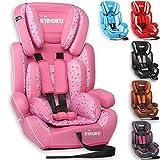KIDUKU® Kindersitz 9-36 kg (1-12 Jahre) - Autositz ECE R44/04, Gruppe 1/2/3...