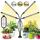 WOLEZEK Pflanzenlampe LED,Pflanzenlicht,80 LEDs Pflanzenleuchte 3000K 5000K 660nm Wachsen...