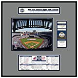 That's My Ticket TFRBBNYY09ODJ New Yankee Stadium Inaugural Game 2009 Opening Day Frame Jr, Mehrfarbig