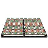 i-flair Lattenrost 160x200 cm Lattenrahmen Tellerlattenrost Flower Ergo IF57 - für alle...