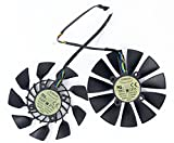 2Pcs/lot T129215SU 12V 0.5A 95mm 5Pin Grafikkartenlüfter For GTX780/780TI R9 280/280X R9 290/290x GTX970 GTX980 Graphics Card Cooling Fan