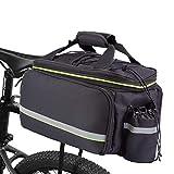 BAIGIO Fahrradtasche für den Kofferraum, wasserdicht, ausziehbar, 10–32 l, mit...