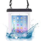 ONX3 (Black) 3Q AC1024C Universal Transparent Tablet, Passport, Money Underwater Waterproof Protection Dry Bag, Case, Cover
