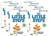 Nestlé LITTLE STEPS 2 Folgemilch im Anschluss an das Stillen, nach dem 6. Monat, 6er Pack...