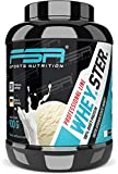 Whey Protein Eiweißpulver - Low Carb Proteinpulver - mit BCAA & EAA - Made in Germany - FSA Nutrition - 900g - Vanilla Ice Cream