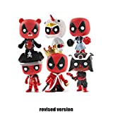 POP Modell!Anime Film Character Model (6 Stück) Deadpool König Deadpool Pirate Deadpool Modell