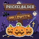 Prickelbilder Halloween: Über 40 gruselige Halloween Motive zum Malen, Prickeln,...