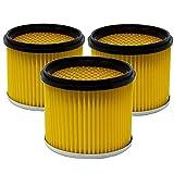 Trocken Lamellenfilter Filter geeignet für Nass-Trockensauger NTS und Industriesauger der...
