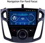 GPS Navigation Fürs Auto Für Ford Focus 2012-2017 Global Easy Installation Support Empfänger Video Player FM Radio Mp3 MP5 / TF/USB/AUX/Rückfahrkamera/2DIN
