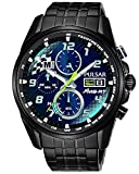 Pulsar Solar Herren-Chronograph M-Sport Ford World Rally Team PZ6037X2