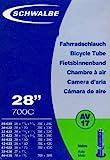 SCHWALBE Fahrradschlauch AV17 mit Autoventil ~ 28' ~ 37-622 mm (28 x 1 3/8 x 1 5/8 Zoll)...