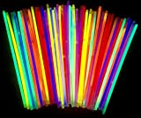 molinoRC | 50 Knicklichter | 50x Leuchtstäbe | Armreifen | Glowstick | Partylichter |...