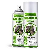 Silberkraft Bundle Marderspray 2 x 400ml, Marderabwehr für Auto und Dachboden,...