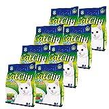 CatClin 8 x 8 l = 64L Silikat Katzenstreu Streu Magic Cat Litter