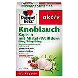 Doppelherz Knoblauch Kapseln mit Mistel und Weißdorn – Arzneimittel zur Vorbeugung...