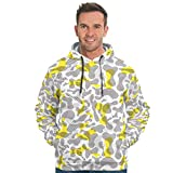 RQPPY Mens Fashion Sweatshirts Training Pullover Für Männer White 5XL