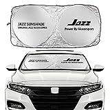 WM home Auto Sonnenschutz Auto-Windschutzscheibe Sun Shade Cover kompatibel mit Amaze BRIO...