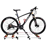 HAMHIN Indoor Bicycle Training, Faltbare Indoor Bicycle Roller Training Bank, Fahrrad Training Bank, Mountainbike, Rennrad Fitness Bank