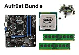 Aufrüst Bundle - MSI B75MA-P45 + Intel i3-2120 + 16GB RAM #76084