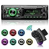 GRUNDIG Autoradio mit Bluetooth Freisprecheinrichtung, 7 Farben Licht Einstellbar 1 Din...