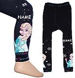 alles-meine.de GmbH Strick Leggings -  Disney Frozen - die Eiskönigin  - incl. Name -...