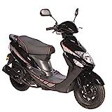 Motorroller GMX 460 Sport 45 km/h schwarz - sparsames 4 Takt 50ccm Mokick mit Euro 4...