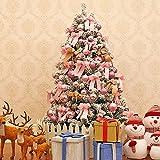 JYHZ Weihnachtsdekoration, Schneeflocke/Beflockung Weihnachtsbaum, Hochwertige Kunst...
