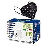 HOME KOKO LOOK 20 Stück FFP2 Bunt Masken Zertifiziert FFP2 Maske CE Zertifiziert Bunt...