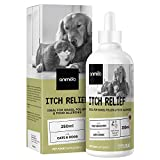 Animigo Juckreiz Linderung - 250ml Tropfen - Itch Relief mit Ginkgo, Augentrost &...