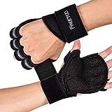 FREETOO Fitness Handschuhe Atmungsaktive rutschfeste Trainingshandschuhe Sport Handschuhe...