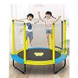 AMYHY Outdoor-Trampolin mit Sicherheitskabine Net und T-Lenker, 60 Zoll for Kinder &...