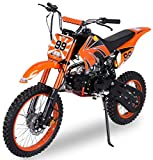 Actionbikes Motors Midi Kinder Jugend Crossbike JC125 125 cc - Hydraulische...