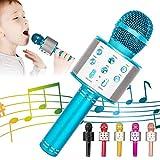 KIDWILL Bluetooth Karaoke Mikrofon, 5 in 1 Drahtloser Mikrofon für Kinder, Kinder...