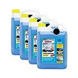 SONAX 4X 03325050 AntiFrost&KlarSicht Konzentrat Frostschutz Waschanlage 5L
