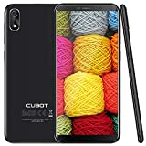 Cubot J3 Dual SIM Android Go Ultra dünn Smartphone ohne Vertrag,5 Zoll (18:9) Touch-Display, 16GB + 1GB, Quad-Core Prozessor, Handy, Face ID, nutzbares GPS,Schwarz
