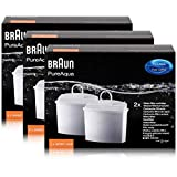 Braun PureAqua Wasserfilterkartusche BRSC006 - Wasserfilter (3er Pack)