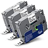 Labelwell Kompatibel Schriftband Ersatz für Brother Tzc Tz Tze-231 Tze231 TZ231 Schwarz...