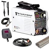 STAHLWERK ARC 200 MD IGBT - Schweißgerät DC MMA/E-Hand Welder mit echten 200 Ampere sehr...