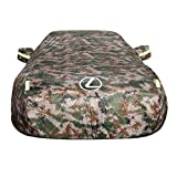 Bonheur Car-Cover Lexus is Car Cover spezielle Auto-Persenning Car Cover Regenschutz Sonnenschutz Eindickung Isolierung Car Cover (Color : Camouflage Color)