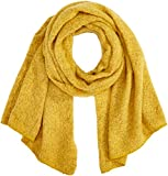 ONLY Damen ONLLIMA KNIT LONG SCARF ACC NOOS CC Schal, Gelb (Yolk Yellow Yolk Yellow), (Herstellergröße: One Size)