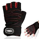 Maxee Fitness Handschuhe,Trainings Handschuhe für Damen und Herren,Workout Lifting...